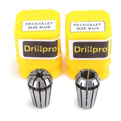 Drillpro 2pcs ER11 1/4