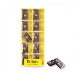 Drillpro 10Pcs 25R0.8 Indexable Insert APMT1604PDER-M2 VP15TF Carbide Inserts CNC Nc Tool